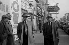 Pedestrians on Pennsylvania Avenue, near Regent Theatre, Baltimore, circa 1948. Paul Henderson, HEN.00.A2-273.