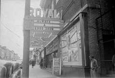 Royal Theatre. 1329 Pennsylvania Avenue, Baltimore, circa 1949. Paul Henderson, HEN.00.B1-001.