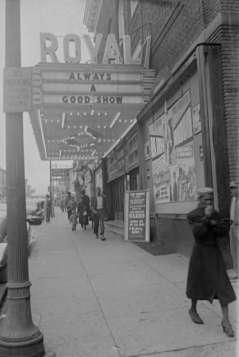 Royal Theatre. 1329 Pennsylvania Avenue, Baltimore, circa 1949. Paul Henderson, HEN.00.B1-002.