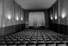 Interior view of theater, circa 1953. Paul Henderson, HEN.00.B1-021.