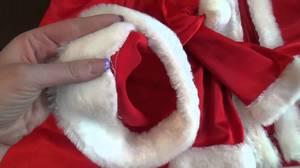 Как просто сшить шапку для Деда Мороза