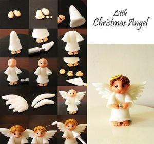 Изготовление ангелочка из полимерной глины