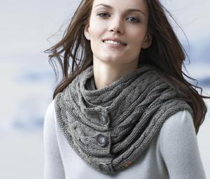 Как вязать шарф транформер