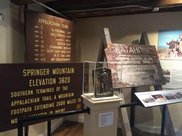 A.T. Museum memorabilia