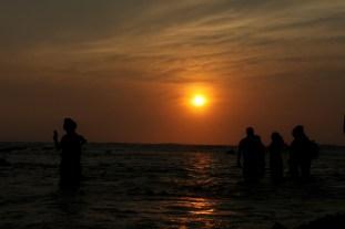 sunset at Tanjung Layar Sawarna_4