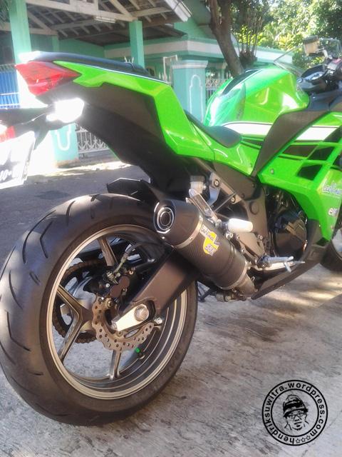 mekanik sepeda motor Modifikasi Honda Tiger Ninja 250R