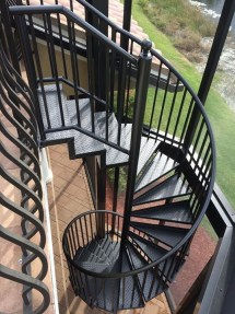 Aluminum Spiral Staircase