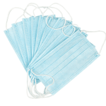 mond kapje surgical-mask-blue