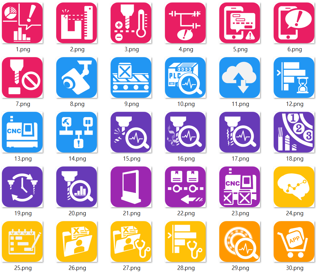 以前設計的APP Icon | HengLin31