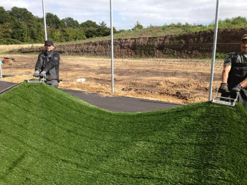 turf grip move artificial grass turf installation