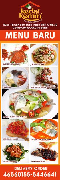 X Banner Menu Makanan : banner, makanan, Xbanner, Kedai, Kemiri, Simple, Desain