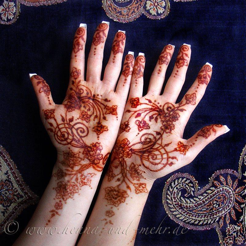 Biozertifiziertes Henna Aus Rajasthan Hennatattoo