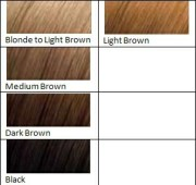 light brown hair dye harvest