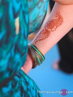 Henna in Santorini, Greece!