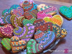 Henna cookies make great favors!