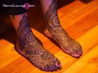 Shalina's feet