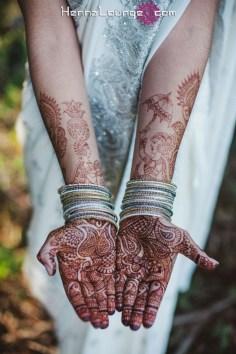 Harin Dalal style henna in Bay Area