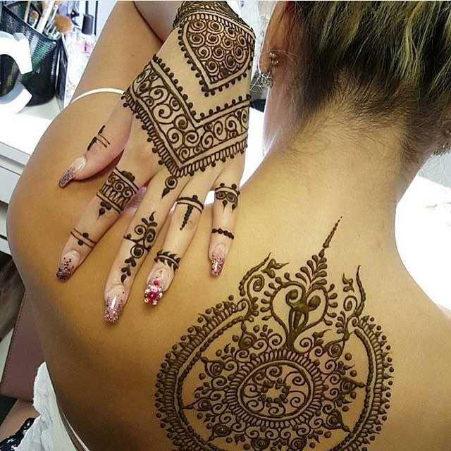 ¿Cuánto dura un tatuaje de Henna?