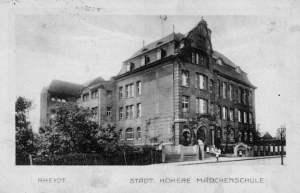 Rheydt städtische höhere Mädchenschule