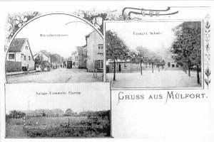 Gruss aus Mülfort 1900