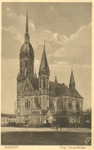 Hauptkirche 1931