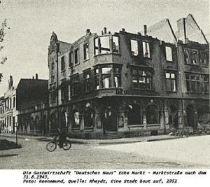Rheydt-Deutsches Haus nach 1943
