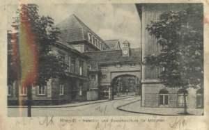 Handels- und Gewerbeschule für Mädchen 1920