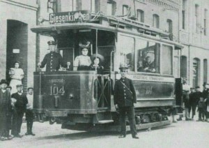 Strassenbahn Giesenkirchen 1900