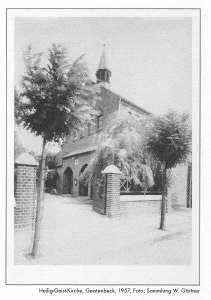 Heilig Geist Kirche Geistenbeck 1957