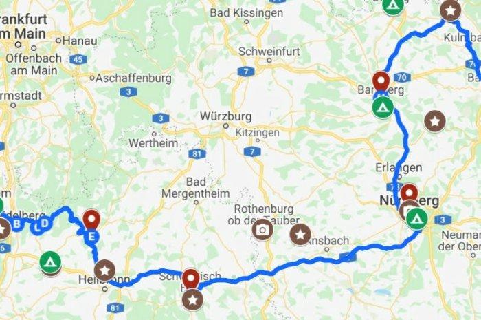 Die Burgenstraße: Vorbei an Burgen, Schlössern & historischen Altstädten