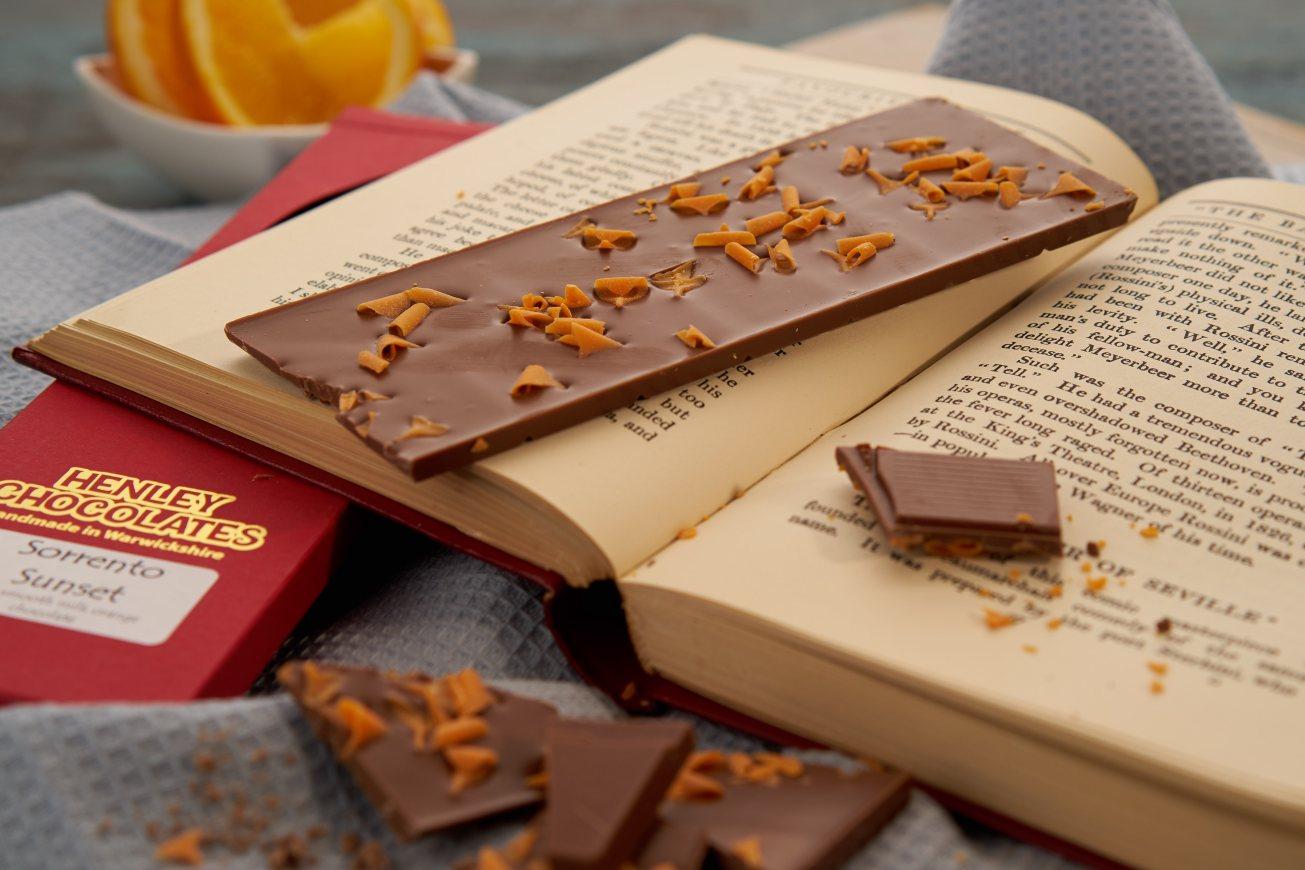 Image of orange chocolate