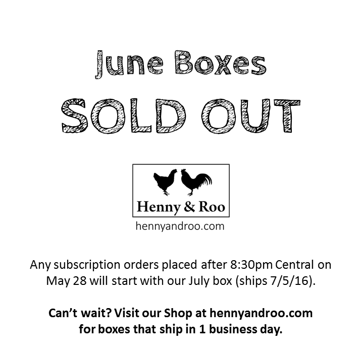 Sold out June