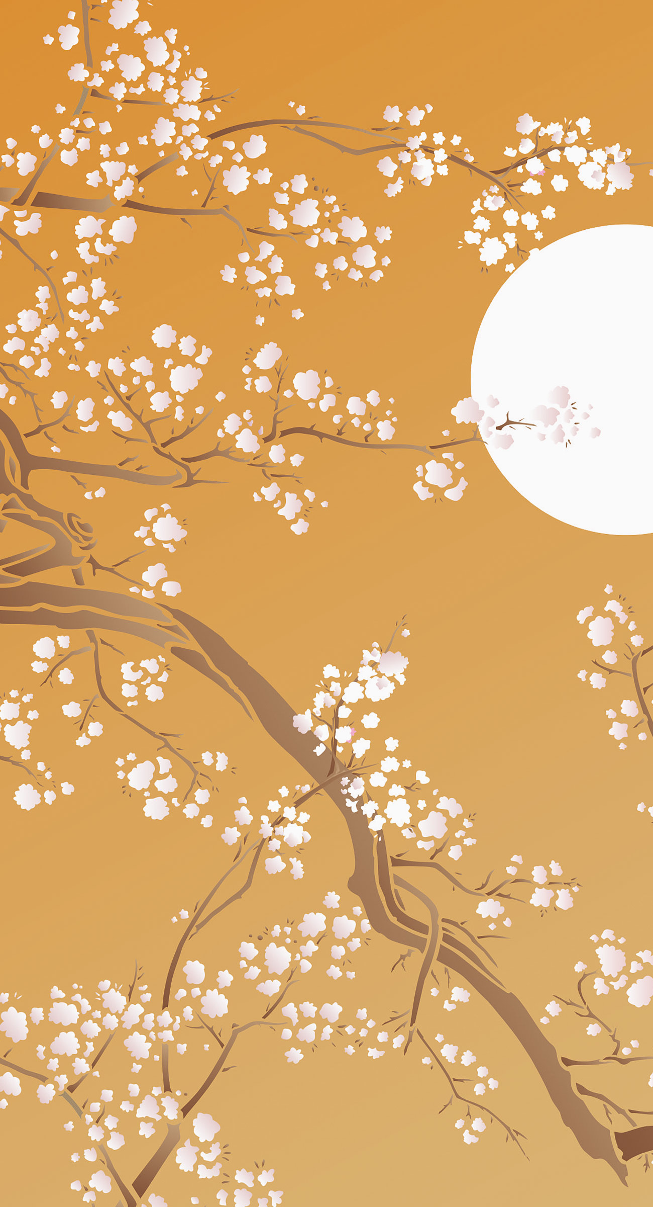 Large Cherry Blossom Tree Wall Decal – House Decor Ideas