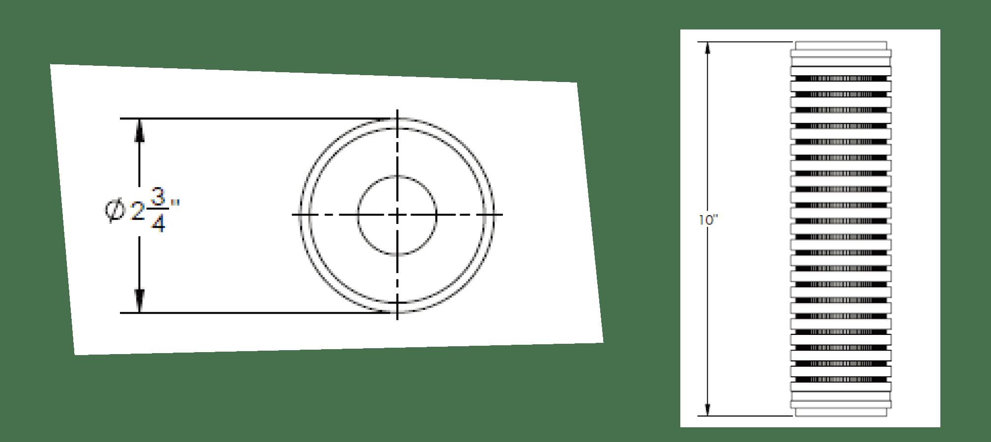 Cim-Tek 31011 1 Micron DEF (Urea) Fused Chemical-Resistant