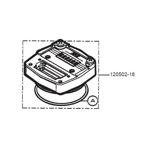 GPI 120502-18 Liter Coverplate Assembly Kit for FM-300H