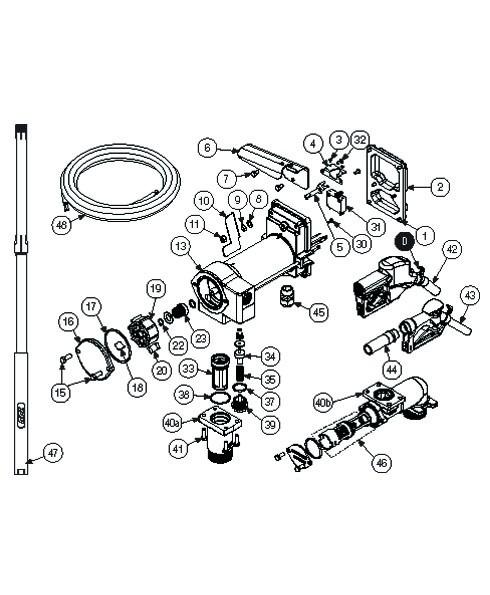 GPI 133505-01 Heavy Duty Poppet Assembly Kit for M-3025