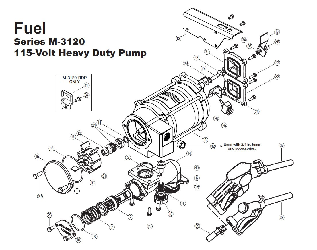 Gpi 1 Super Duty Check Valve Strainer Assembly For M 115v Pump