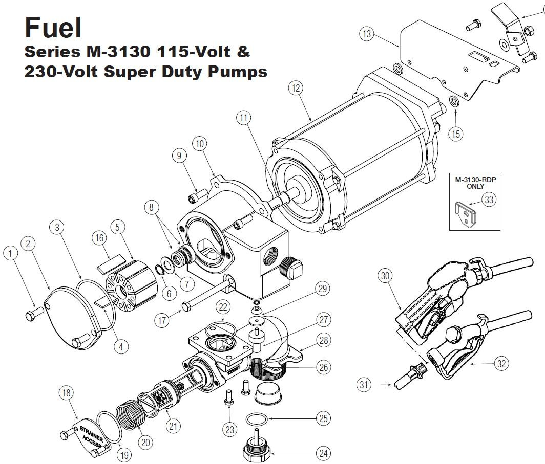 Gpi 11 Shaft Key For M 115v 230v Super Duty