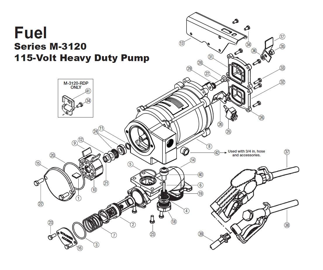 Gpi 01 Vapor Recover Kit For M Amp M Pump