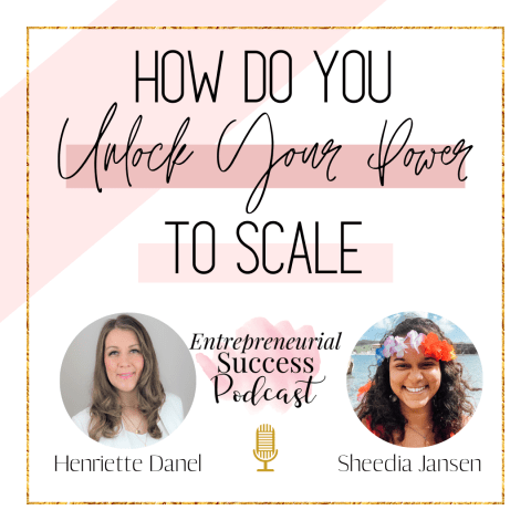 how do you unlock your power to scale