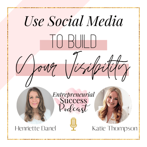 use social media to build your visibility