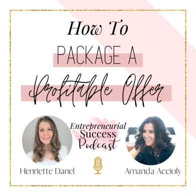 how to package a profitable offer