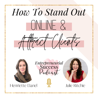 how to stand out online and attract clients
