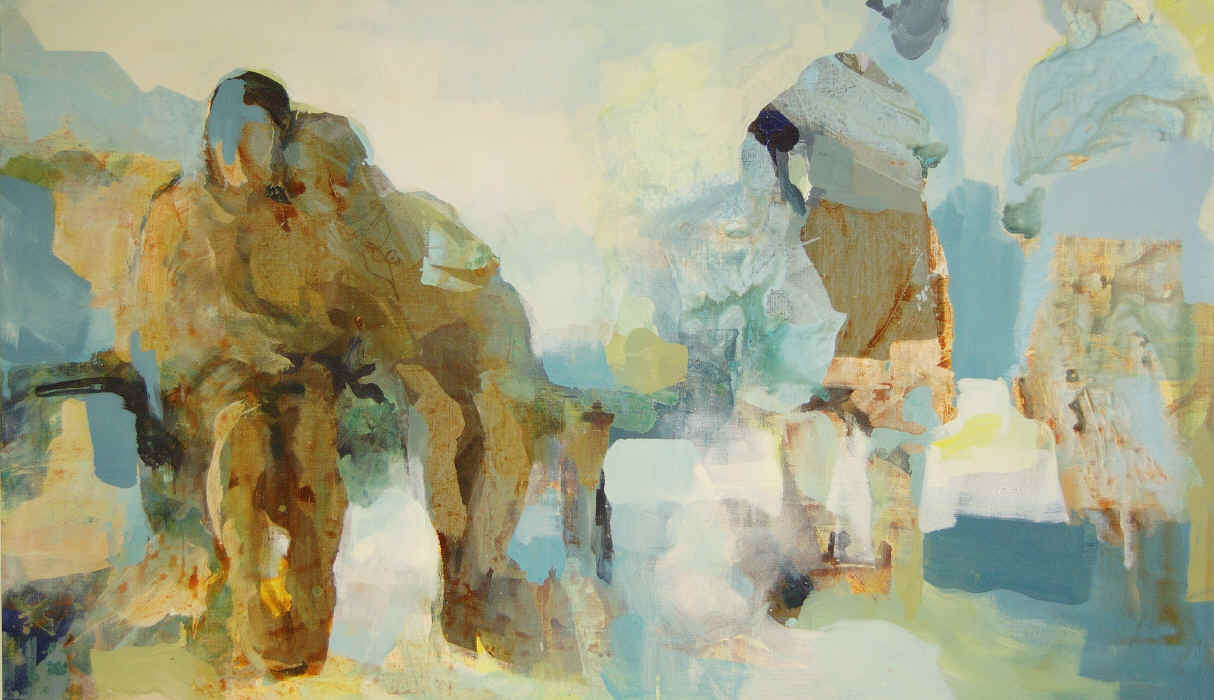 Us and them 100x170 cm
