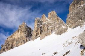 Tre Cime di Lavaredo, south face