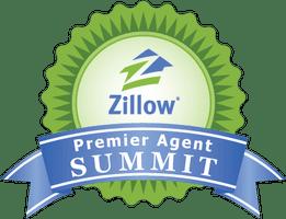 Zillow's Premier Agent Summit logo