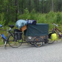 Cykelsemester: Kiruna/Ystad
