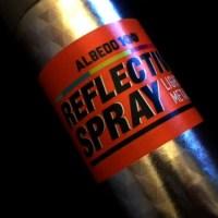 Nu är det dags att testa reflexspray!