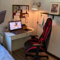 Ett modifierat kontor...