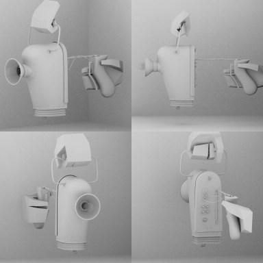 Solkatt – Photon Emitter - Sci-fi gun – early Concept
